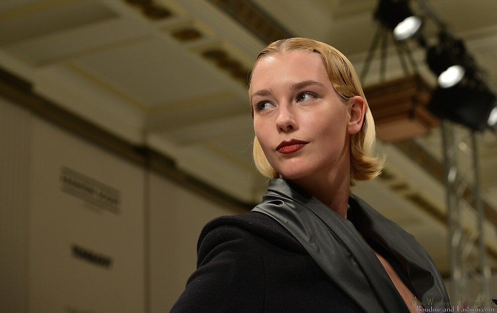 Portrait on the Runway during Carlotta's Show LFW AW13 by MarcW
