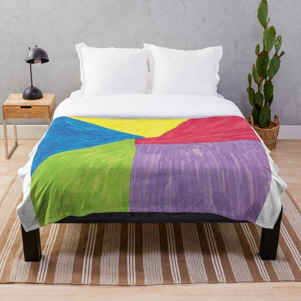 5 colors Throw Blanket