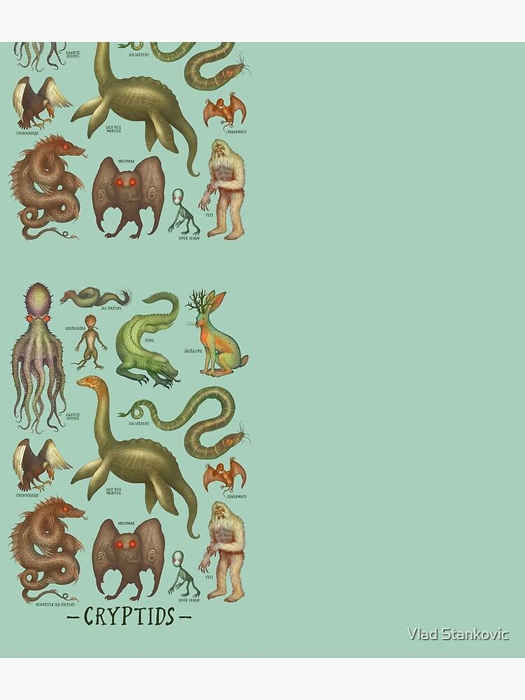 Cryptids - Cryptozoology species by vladimirsart