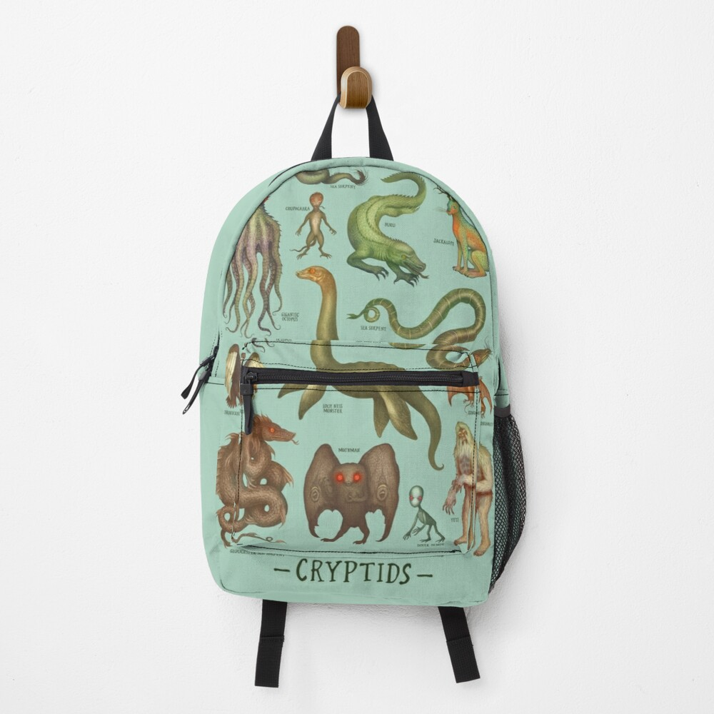 Cryptids - Cryptozoology species Backpack