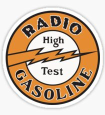 Radio Gasoline High Test T-shirt Sticker