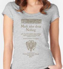 Shakespeare. Much adoe about nothing, 1600 Camiseta entallada de cuello redondo