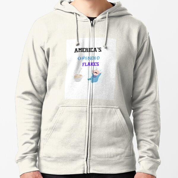 Offended Flakes Americas  Zipped Hoodie