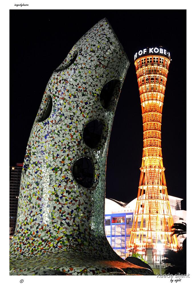 kobe by night by imagesbyhanson