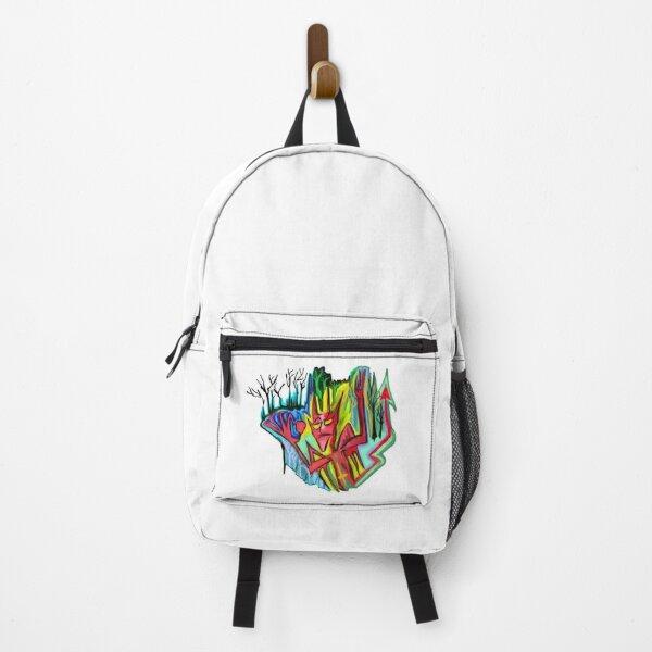 Red devil. Backpack