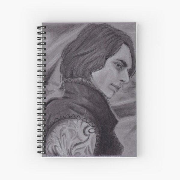portrait graphite - fanart Cahier à spirale