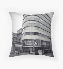 Finans center Throw Pillow