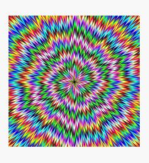 Psychedelic Swirl Photographic Print