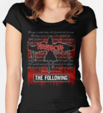 The Following: Raven in Flight Women's Fitted Scoop T-Shirt