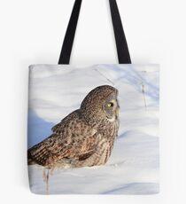 GREAT GRAY OWL Tote Bag