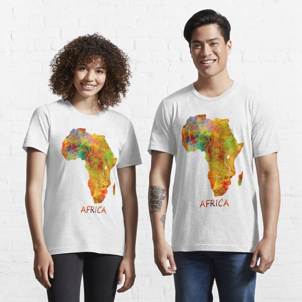 Africa map #africa #map Essential T-Shirt