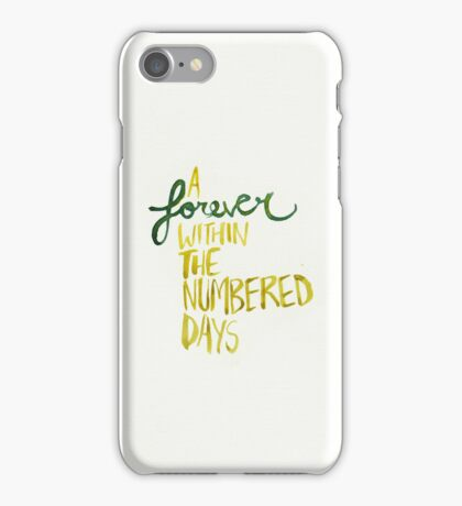 Forever iPhone Case/Skin