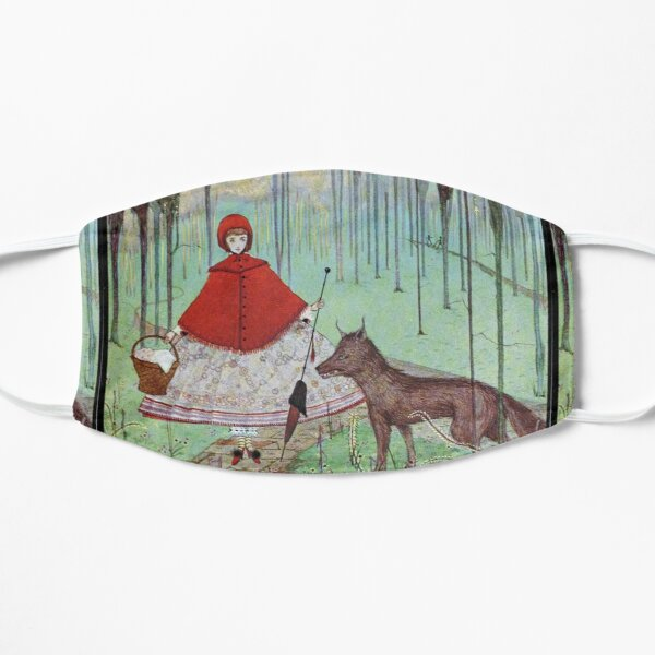 """Little Red Riding Hood"" by Harry Clarke Mask"