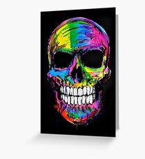 Skull colors 2 Greeting Card