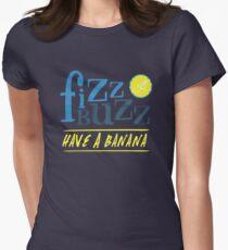 Fizz Buzz! Women's Fitted T-Shirt