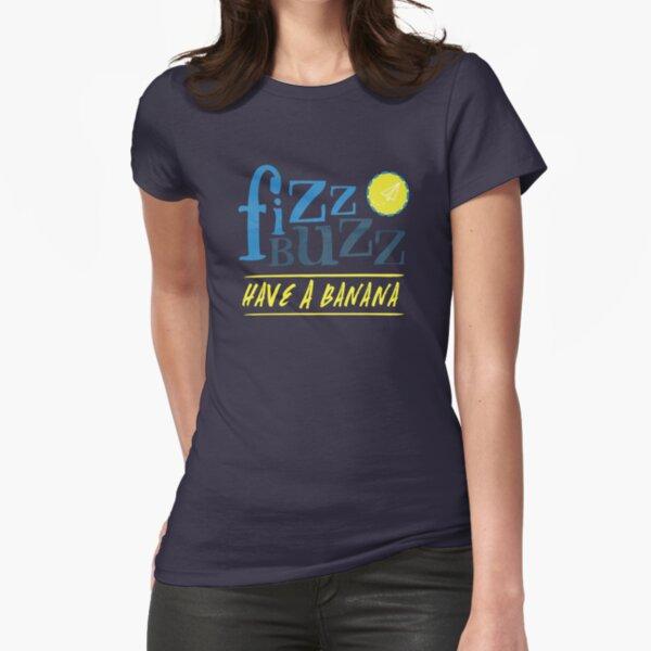 Fizz Buzz! Fitted T-Shirt