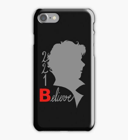 221B: Believe! iPhone Case/Skin