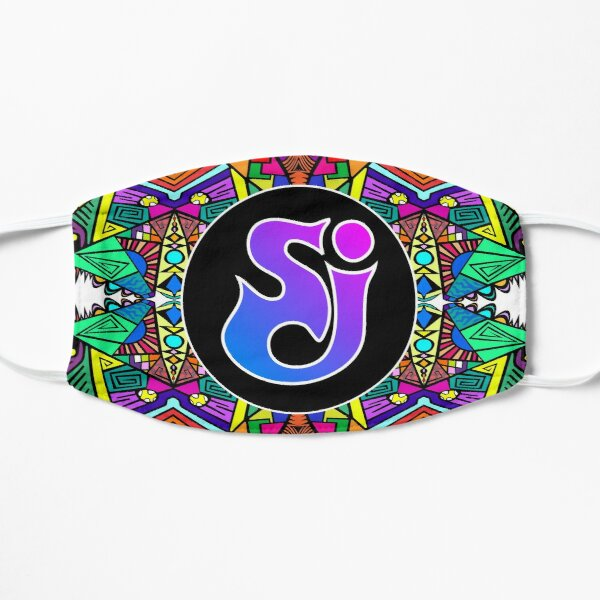 String Cheese Incident - Trippy Pattern 2 Flat Mask
