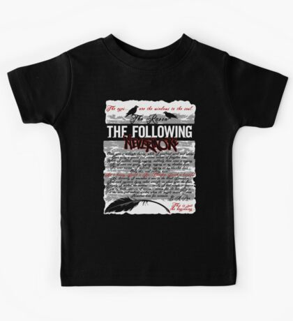 The Following:Nevermore Kids Clothes