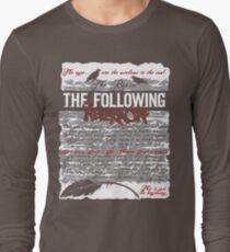 The Following:Nevermore Long Sleeve T-Shirt