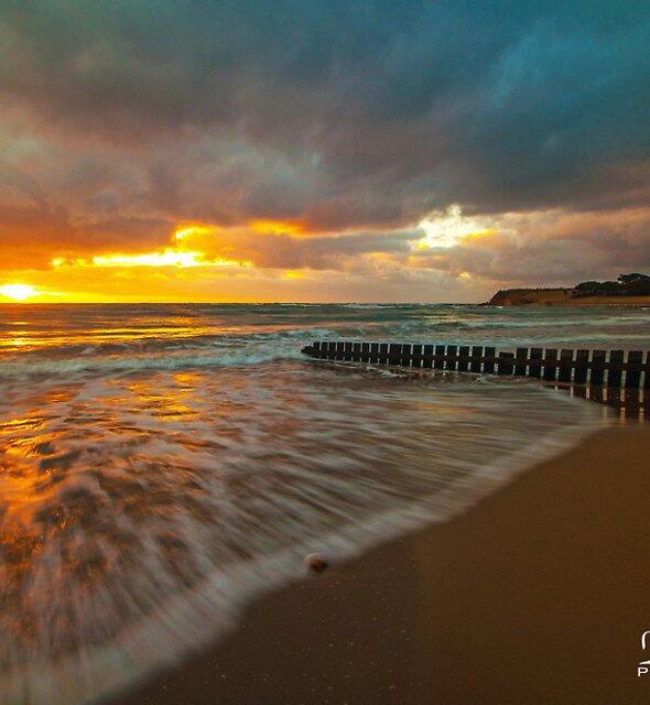 Torquay Sunrise by Danielle  Miner
