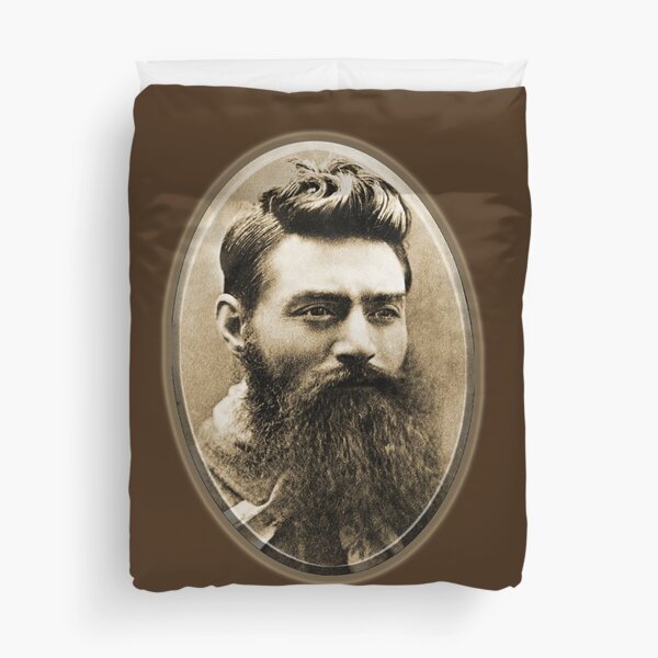 Ned Kelly. The day before his execution. Duvet Cover