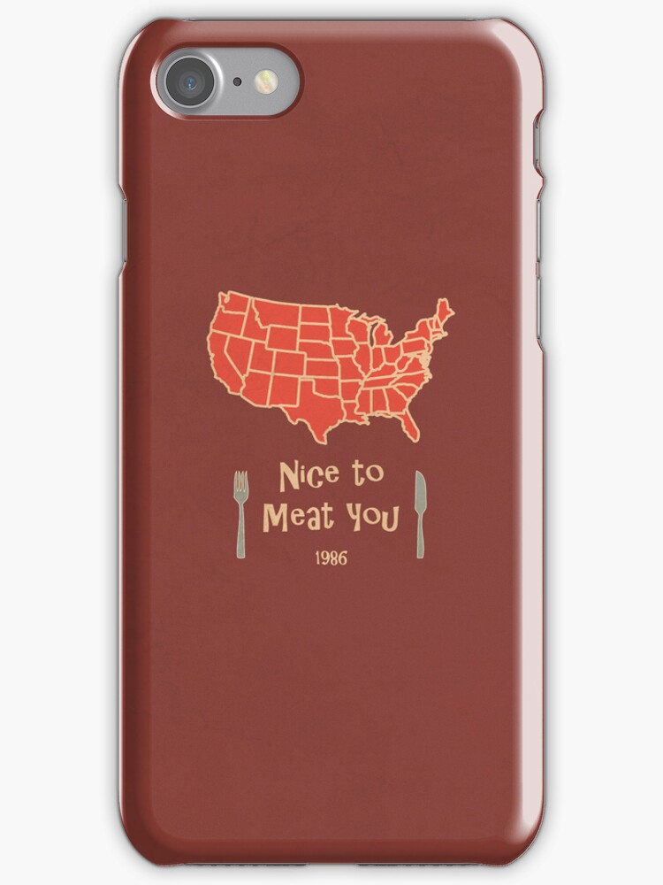 Nice to Meat You USA Map by thejoyker1986