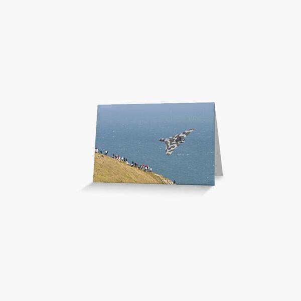 Avro Vulcan XH558 Greeting Card