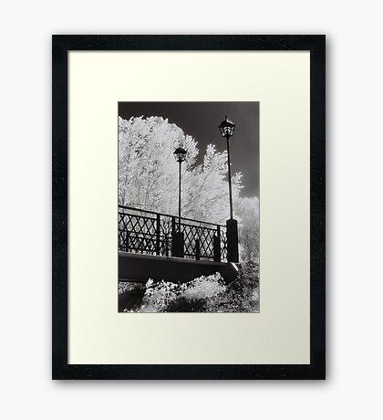 Wangaratta Footbridge Framed Print