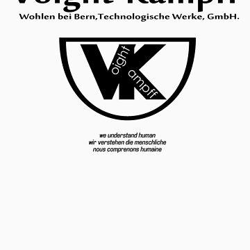 Voight Kampff - VK - Offworld Colonies by dennis-gaylor