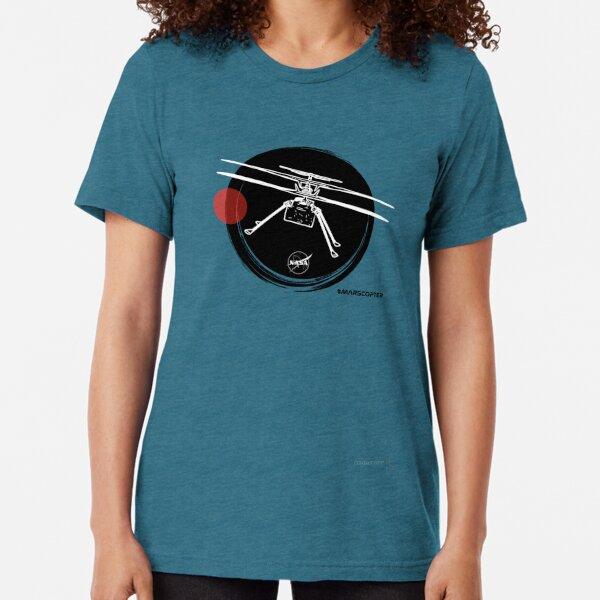 Mars Mission 2021 Perseverance | Ingenuity #2 Tri-blend T-Shirt