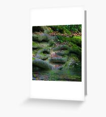 Roots in the Hundred Acre Wood Greeting Card
