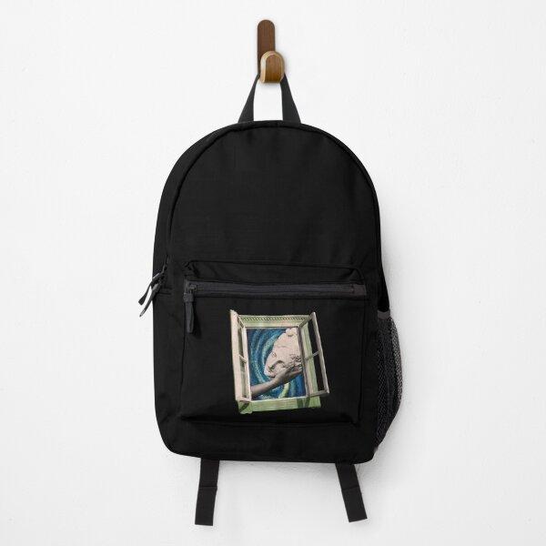 surrealism collage Backpack
