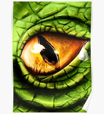 The Steam Dragons Eye Poster