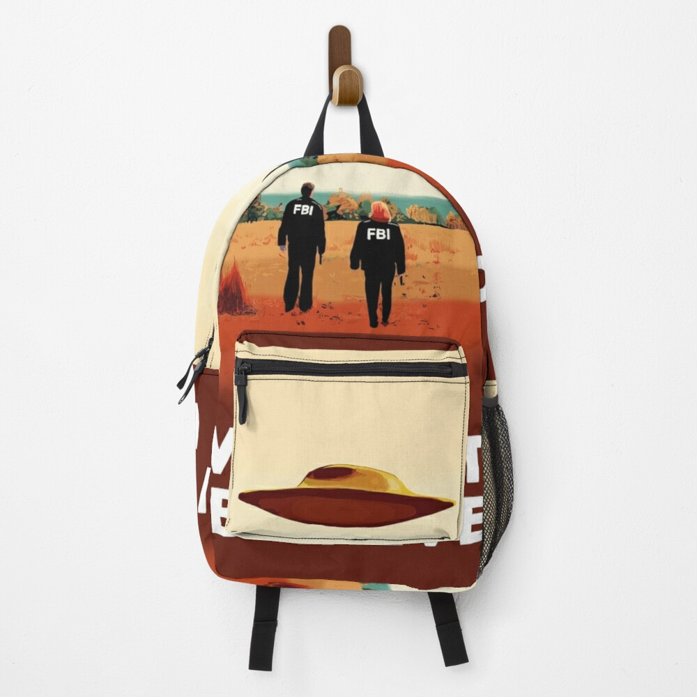 The X Files I want to believe FBI poster  Backpack