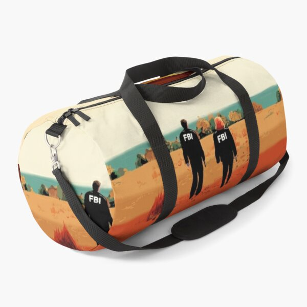 The X Files I want to believe FBI poster  Duffle Bag