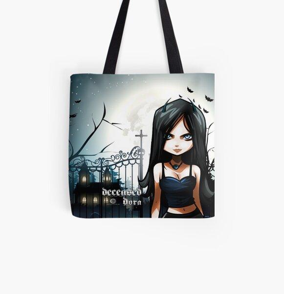Deceased Dora All Over Print Tote Bag