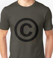 Copyright (©) Unisex T-Shirt