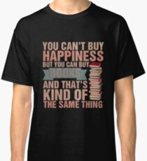 Books=Happiness Classic T-Shirt