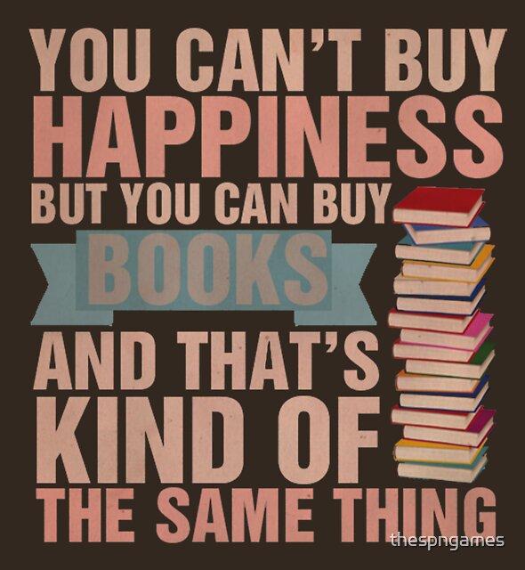 «Libros = Felicidad» de thespngames
