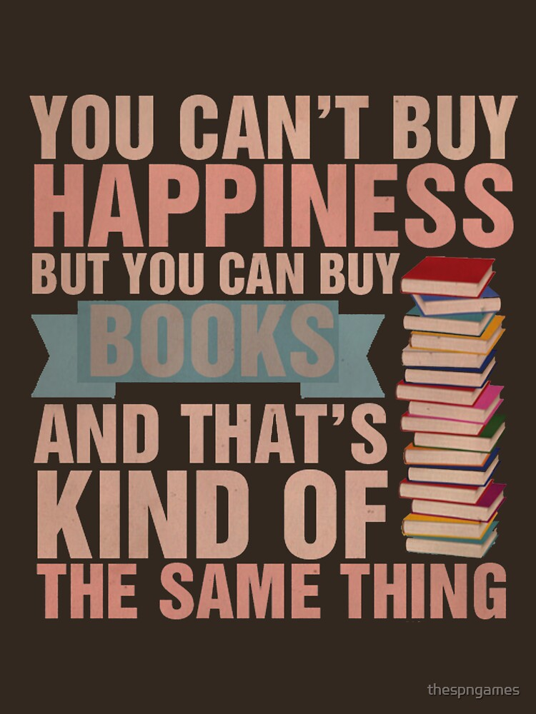 Books=Happiness | Unisex T-Shirt