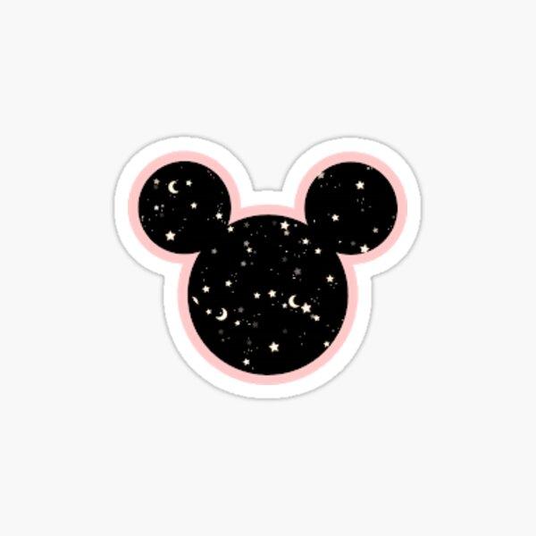 galaxy mickey mouse Pegatina