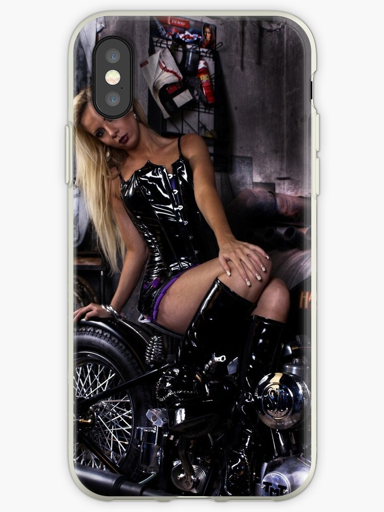 Harley Davidson girl 12 by bravomodels