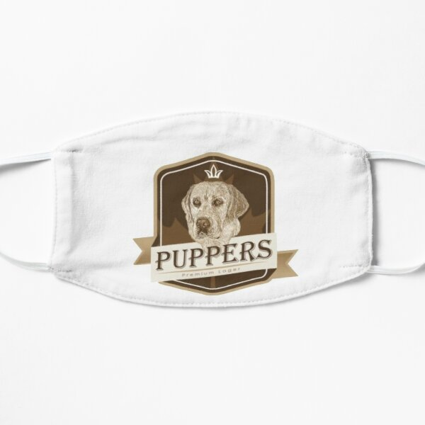 Puppers, Officially Wayne's favourite beer. Flat Mask