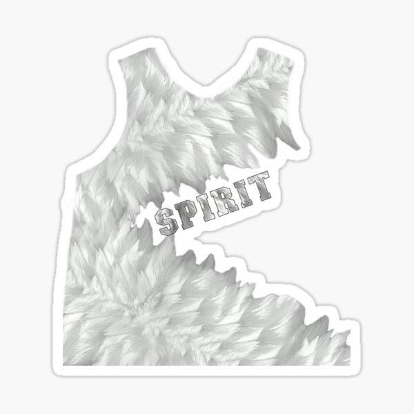 FEATHERED SPIRIT Sticker