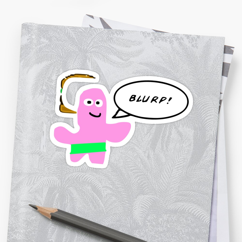 BLURP! Sticker