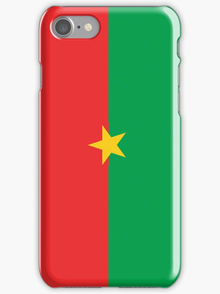 Burkina Faso Flag by pjwuebker