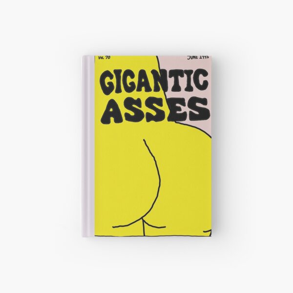 The Simpsons Gigantic Asses funny magazine  Hardcover Journal