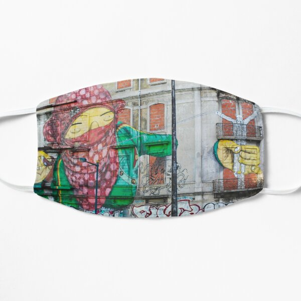 Street Art of Lisbon  Mask