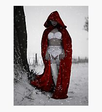 Lil Red Photographic Print